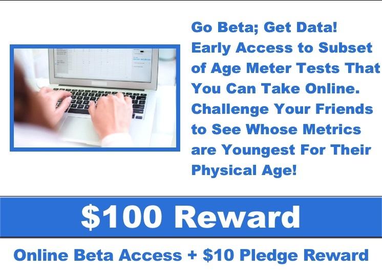 AgeMeter Campaign Reward Online Beta Access