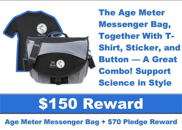 AgeMeter Campaign Reward Tote Bag and T-Shirt