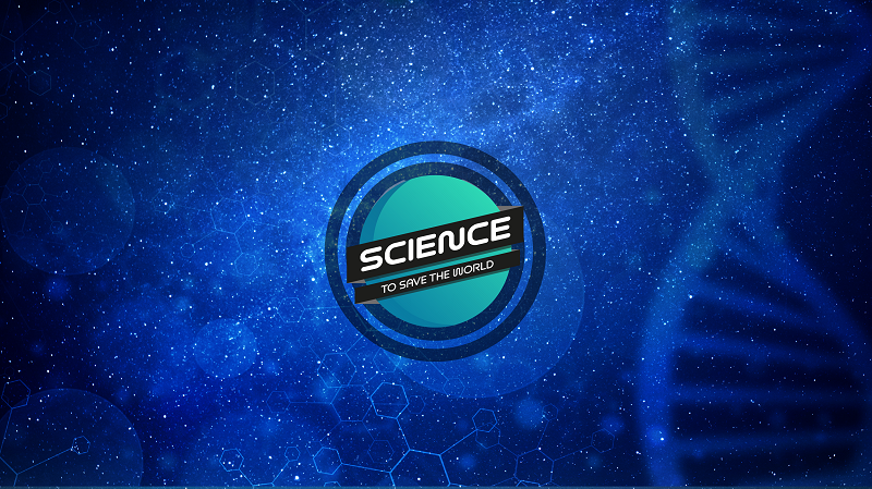 Science to Save the World logo