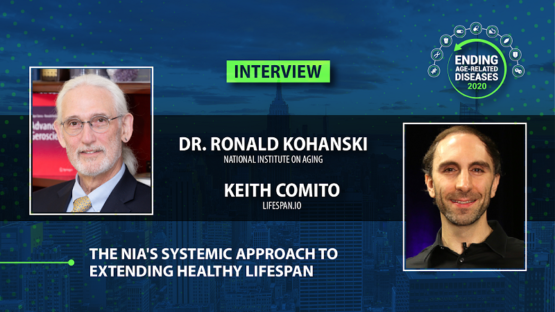 Keith Comito and Ronald Kohanski at Ending Age-Related Diseases 2020