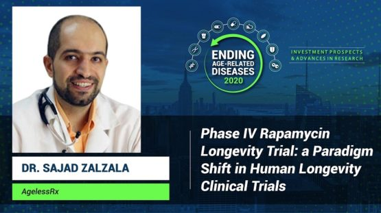 Dr. Sajad Zalzala at Ending Age-Related Diseases 2020