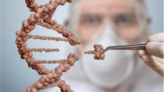 Tweezers remove a single gene