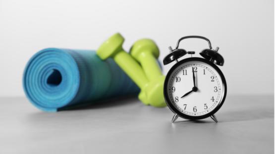 Exercise clock